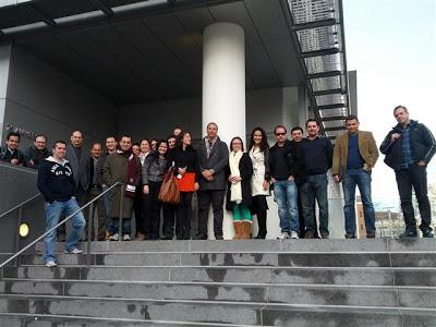 Empreendedores do EIP em visita no MIT Media LAB em Boston