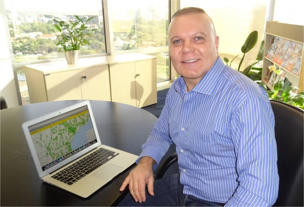 Carlos Mira, o CEO da TruckPad