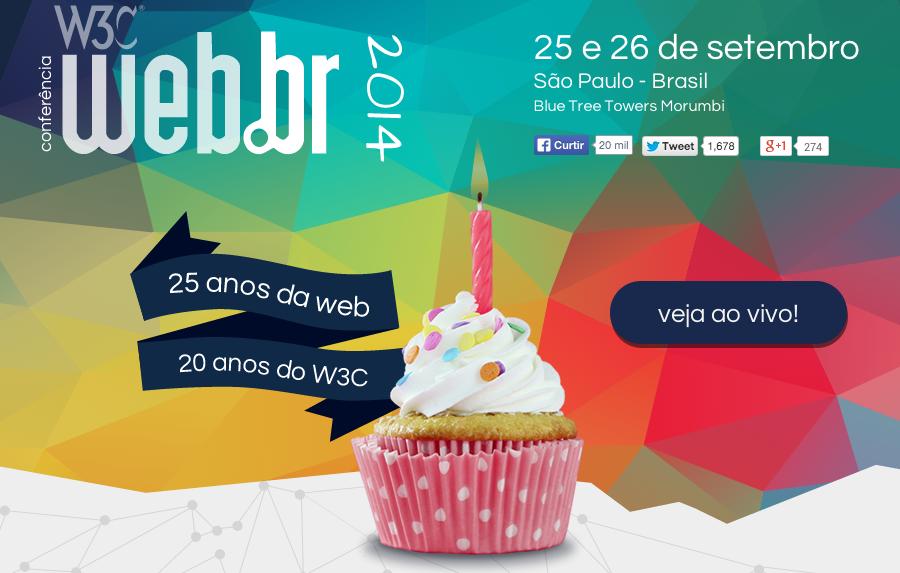 Conferência W3C Web.br 2014